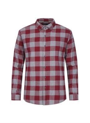 윈도우 페인 체크 웜터치 셔츠 (CGR)
