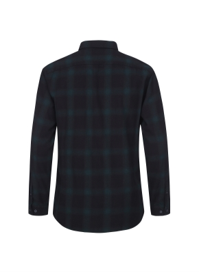 블랜드 체크 패턴 셔츠 (CGN)