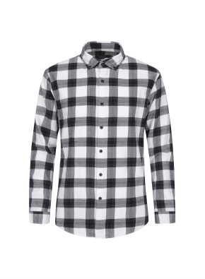 블랜드 체크 패턴 셔츠 (CGR)