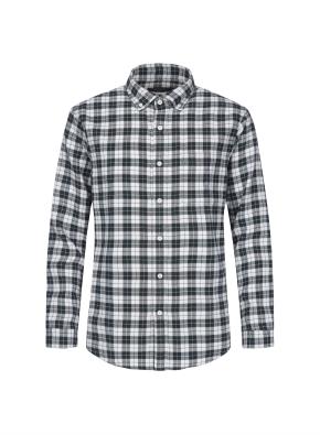 멀티 체크 웜터치 셔츠 (GN)