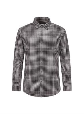 믹스 체크 웜터치 셔츠 (BE)