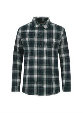 헤비 플란넬 셔츠 (GN)