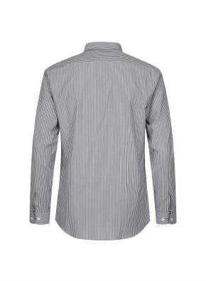 톤다운 스트라이프 드레스 셔츠 (KH)