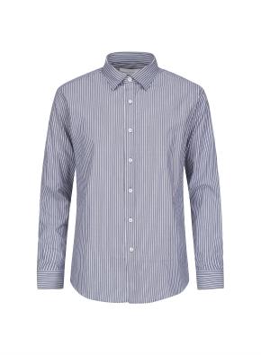 톤다운 스트라이프 드레스 셔츠 (NV)