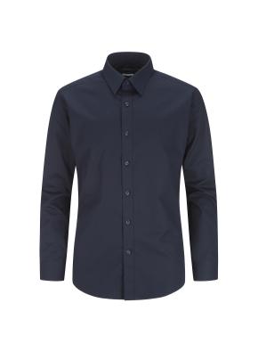 면혼방 솔리드 드레스셔츠 (NV)