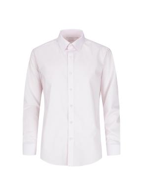 레이온혼방 스트레치 면혼방 솔리드 드레스셔츠 (PK)