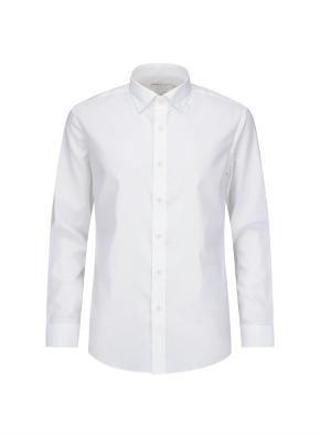 심플 스트레치 슬림핏 드레스 셔츠
