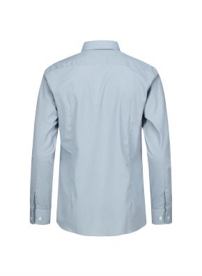 솔리드 슬림핏 드레스 셔츠 (MT)