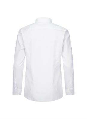 모던 와이드 카라 슬림핏 드레스 셔츠