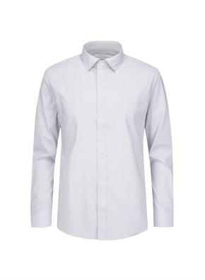 세미와이드 카라 슬림핏 드레스 셔츠 (GR)