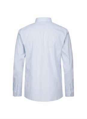면혼방 스트레치 베이직 슬림핏 셔츠 (BL)