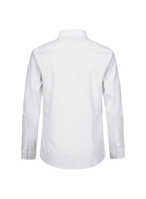면혼방 스트레치 베이직 슬림핏 셔츠 (WT)