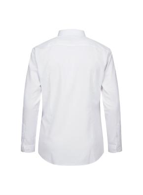 스트레치 베이직 슬림핏 셔츠