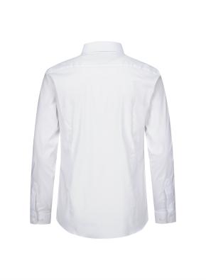 코튼 블랜드 스트레치 슬림핏 셔츠