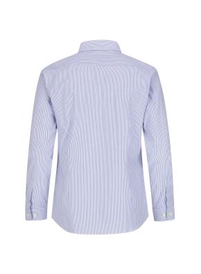 스트레치 면혼방 슬림핏 투톤스트라이프 드레스셔츠 (BL)