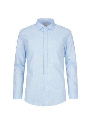 코튼혼방 베이직 드레스 셔츠 (BL)