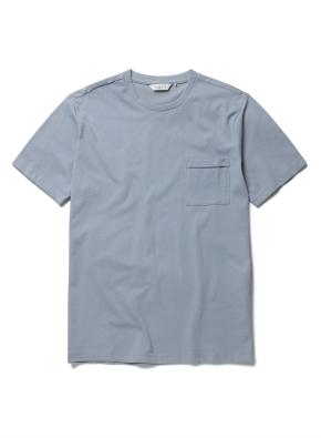스위티 라운드 포켓 반팔 티셔츠 (BL)