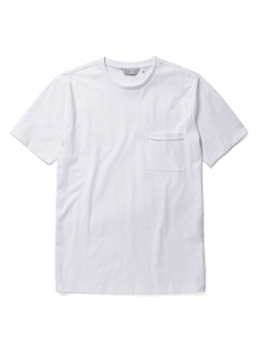 스위티 라운드 포켓 반팔 티셔츠 (WT)