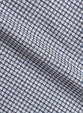 스몰 체크 드레스셔츠