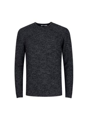 울혼방 솔리드 7GG 스웨터 (GR)