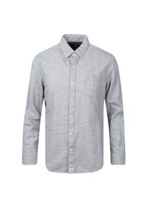 코튼 레귤러 체크 셔츠 (GR)