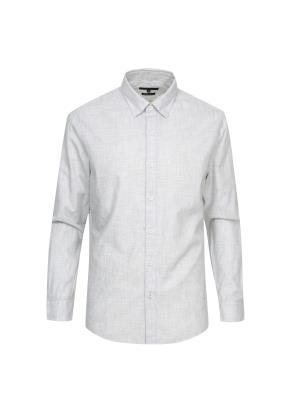 면 슬럽 조직변형 셔츠  (WT)