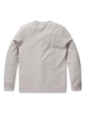 워셔블 라운드 스웨터 (BE)