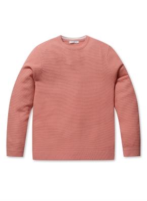 워셔블 라운드 스웨터 (CO)