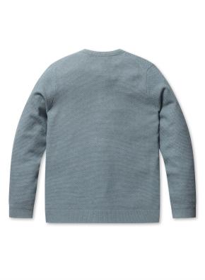 워셔블 라운드 스웨터 (MT)