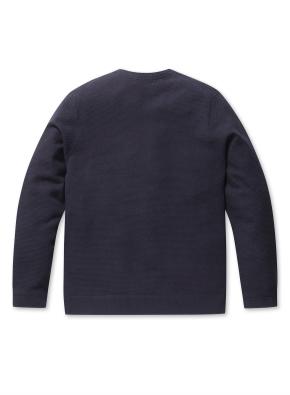 워셔블 라운드 스웨터 (NV)