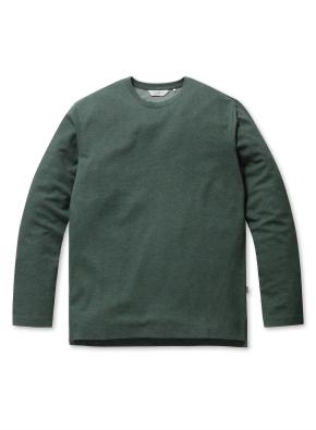 베이직 캐주얼 라운드 티셔츠 (GN)