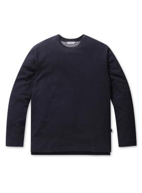 베이직 캐주얼 라운드 티셔츠 (NV)