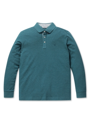 소프트 코튼 S/T 카라 티셔츠 (GN)