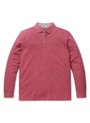 소프트 코튼 S/T 카라 티셔츠 (RD)
