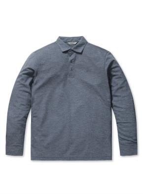 믹셀 심볼 카라 티셔츠 (BL)