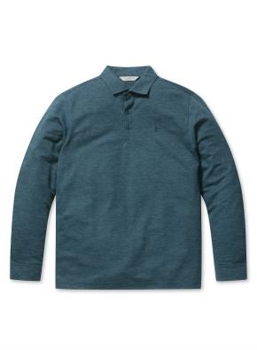 믹셀 심볼 카라 티셔츠 (GN)