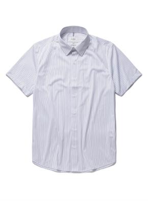 트리코트 세미드레스 반팔셔츠 (BL)