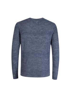 텍스쳐 브이넥 스웨터 (NV)