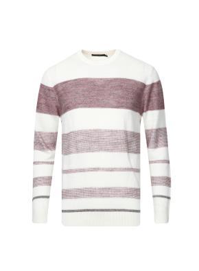 린넨혼방 블록 스트라이프 스웨터  (PK)