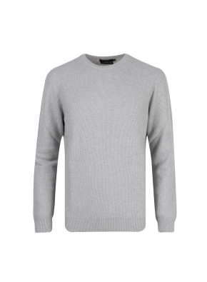 캐시미어혼방 라운드 스웨터 (LGR)