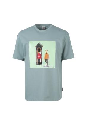 슈퍼픽션 콜라보 그래픽 티셔츠 (MT)