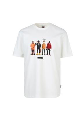 슈퍼픽션 콜라보 그래픽 티셔츠 (WT)