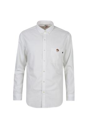 올리버 와펜 솔리드 셔츠 (WT)