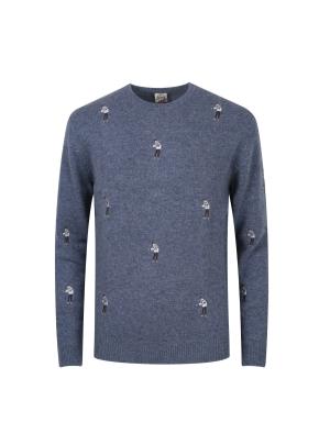 올리버 자수 스웨터 (LBL)