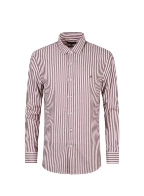 소프트 스트라이프 셔츠 (RD)