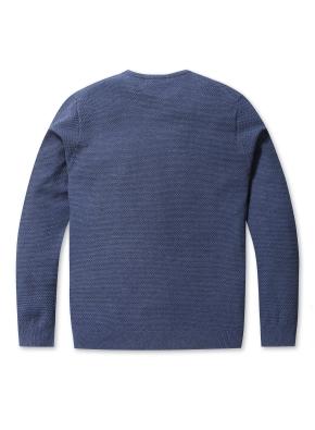 솔리드 라운드 스웨터 (DBL)