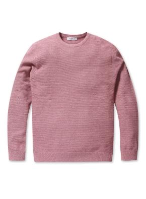 솔리드 라운드 스웨터 (PK)