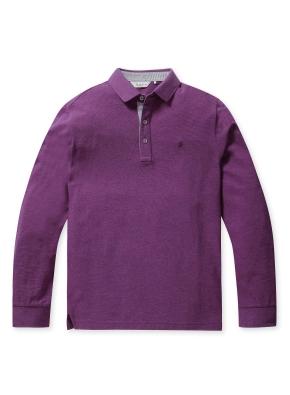리플 솔리드 카라 티셔츠 (PP)