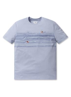 [2장에 59,000원] 올리버 서핑 프린트 반팔티 (LBL)