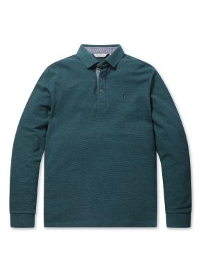 리플 솔리드 카라 티셔츠 (CBL)